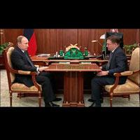Состоялась рабочая встреча руководителя Ростехнадзора с Президентом РФ