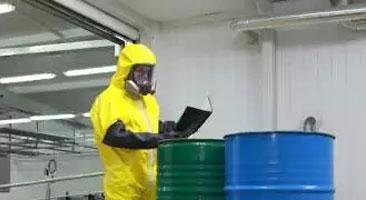 Расчет класса опасности отходов
