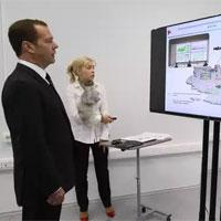 Ростехнадзор в рамках визита Председателя Правительства РФ в Волгоград презентовал действие системы удаленного надзора