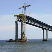 Руководитель Ростехнадзора проконтролировал ход строительства Керченского моста